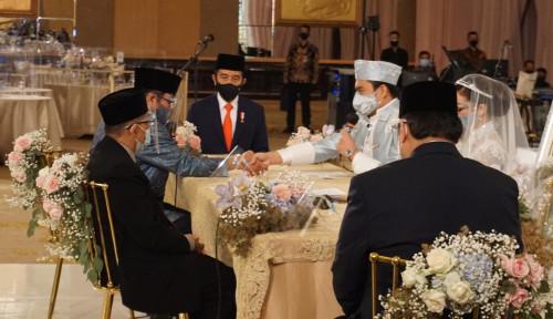 Tak Hanya Atta-Aurel, Jokowi Juga Jadi Saksi Nikah Putri Ketua Fraksi Golkar MPR