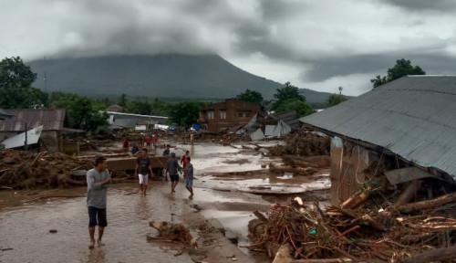 Waduh, Pengungsi Bencana NTT Reaktif COVID 19