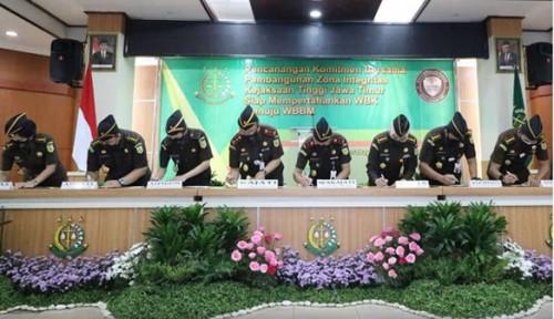 Kejaksaan Tinggi Jawa Timur Canangkan Zona Integritas Menuju WBBM