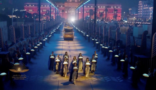 Parade Mumi Kerajaan Mesir Kuno Berlangsung Meriah, Salah Satu Cara Tarik Para Pengunjung