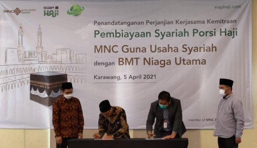 Permudah Pembiayaan Haji, MNC Kapital Pacu Kemitraan Program Siap Haji