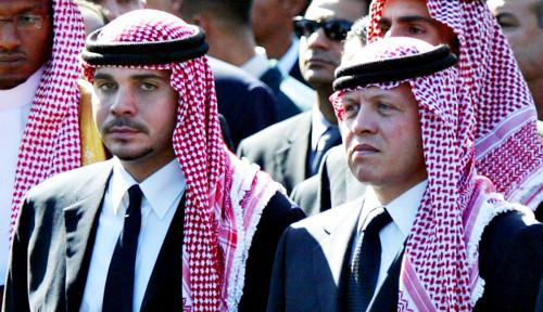 Baru Ribut-ribut, Raja Abdullah II dan Pangeran Yordania Tampil Bareng