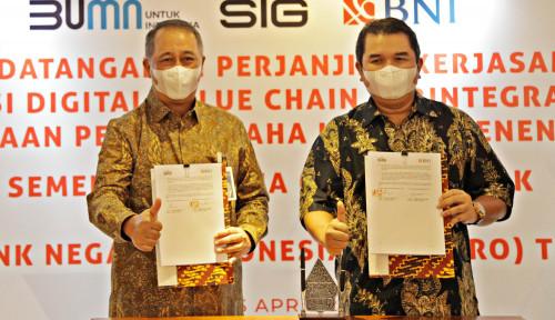 BNI Bidik Pembiayaan Rp2 Triliun ke Mitra Semen Indonesia