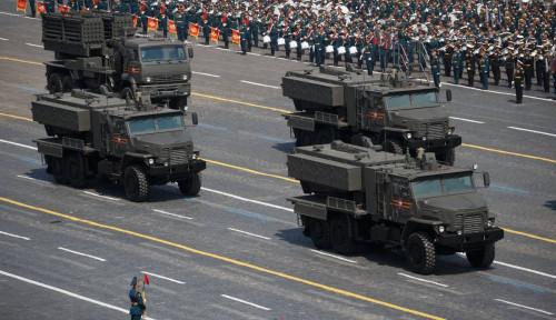 Pamer Pelontar Api TOS-2 Tosochka, Kemampuan Senjata Rusia yang Ini Perlu Diwaspadai