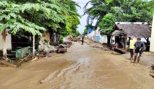 BNPB Pisahkan Golongan Rentan di Pengungsian Korban Banjir NTT