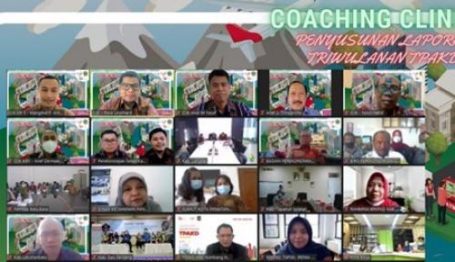 OJK dan Pemprov Sumut Gelar Coaching Clinic TPAKD Secara Virtual
