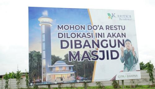 Masya Allah! Citra Swarna Group Bangun Masjid Berkubah, Paling Tinggi se-Karawang