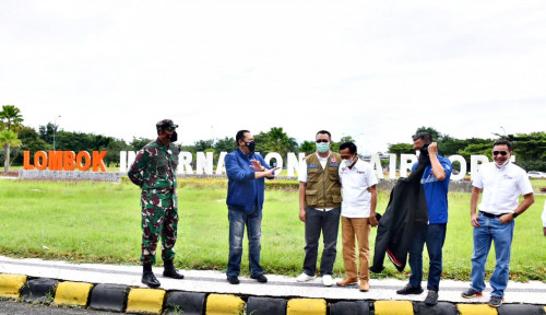 Bamsoet, Dorna Sport, dan FIM Tinjau Kesiapan Bandara Internasional Lombok Dukung MotoGP Mandalika