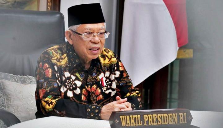 Ma'ruf Amin Minta Dana Alokasi Khusus 2022 Fokus untuk Percepatan Pemulihan Ekonomi Nasional