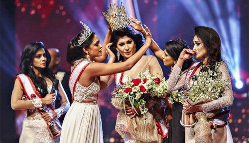 Ribut di Atas Panggung, Ratu Kecantikan Sri Lanka Alami Luka-Luka