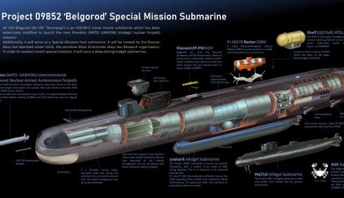 Laporan Citra Satelit: Rusia Uji Supertorpedo Poseidon 2M39, Si Pencipta Tsunami Radioaktif
