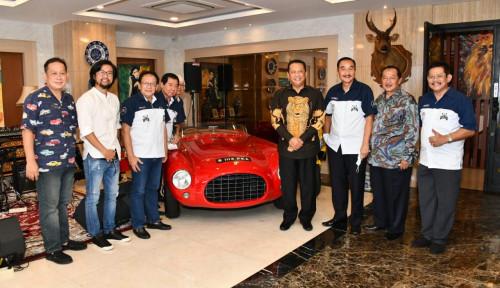 Terima Perhimpunan Penggemar Mobil Kuno Indonesia, Bamsoet Dorong Pembangunan Museum Mobil Klasik