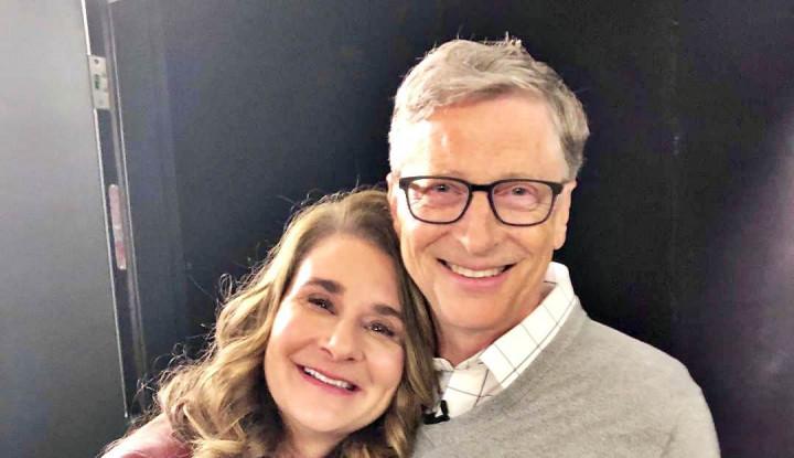 Foto Berita Terungkap!! Ternyata Bill Gates Digugat Cerai Melinda, Alasannya...