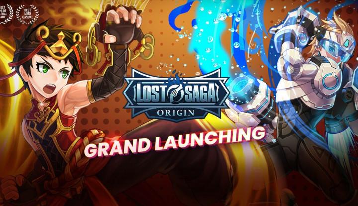 grand launching lost saga origin resmi dibuka