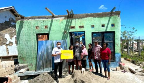 Gerak Cepat, BTN Beri Bantuan Korban  Terdampak Badai Siklon Seroja di NTT