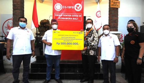 BTN Salurkan Rp500 Juta Buat Korban Bencana di NTT