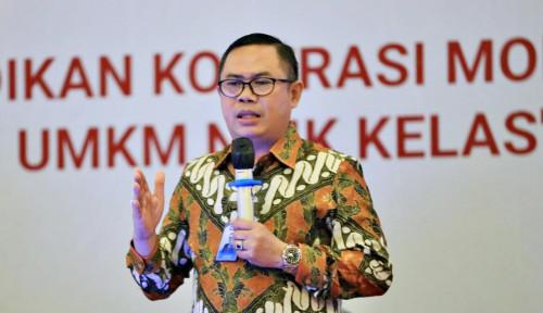 Foto Penyaluran Dana Bergulir LPDB-KUMKM Kuartal Pertama 2021 Capai Rp553 Miliar