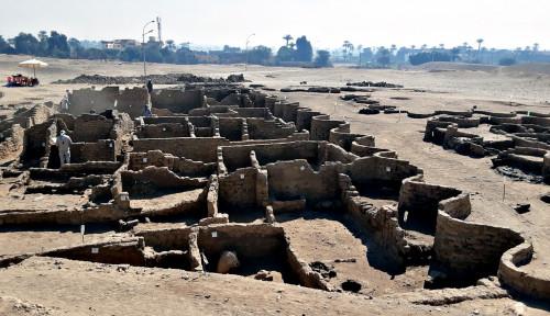 Kota Hilang di Luxor Akhirnya Ditemukan, Mesir Identifikasi dari Masa Firaun...