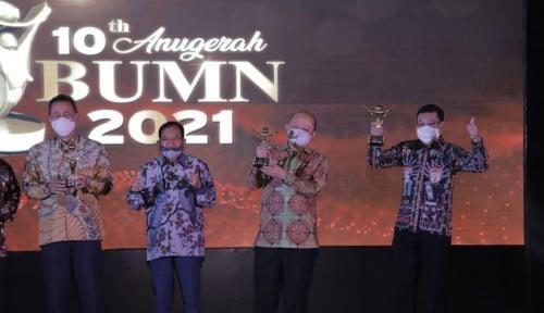 Di Ajang Anugerah BUMN 2021, Pupuk Indonesia Borong 4 Penghargaan Sekaligus