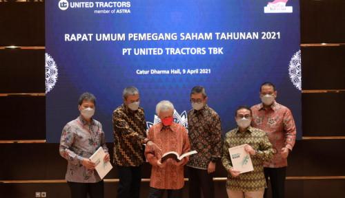 Bagi-bagi Rezeki ke Pemegang Saham, United Tractors Siapkan Dana Rp2,4 Triliun