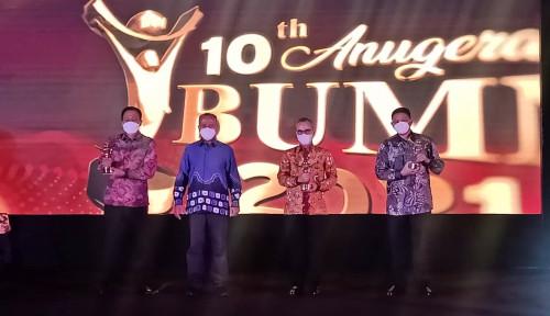 JICT Kembali Raih Penghargaan Anugerah BUMN Award 2021