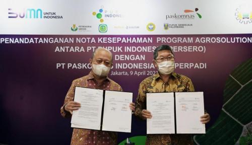 Perluas Agro Solution, Pupuk Indonesia Gandeng Perpadi dan Paskomnas