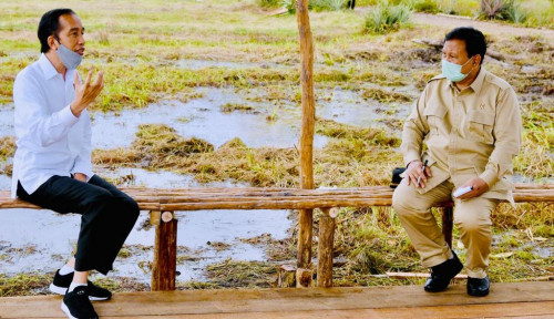 Prabowo Capres 2024 Teratas, Jokowi Nomor Dua