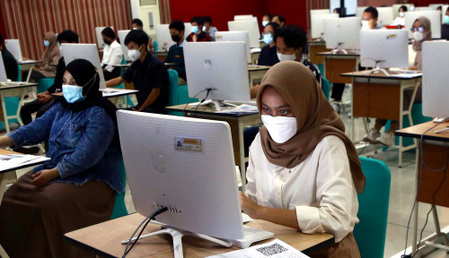 Ujian Tulis Berbasis Komputer Masuk Perguruan Tinggi Negeri