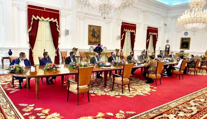 Pengurus IMI Pusat Bertemu Jokowi, Bamsoet: Presiden Dukung Gelar Kejuaraan Balap Motor Bebek