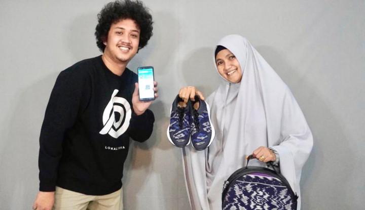 Foto Berita Hanya Pasarkan Produk Asli Indonesia, Lokalpunya Bantu UMKM Pasarkan Produk