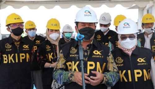 Resmikan BMK, Menteri Trenggono Lepas Ekspor Produk Perikanan ke-40 Negara