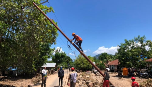 PLN Berhasil Pulihkan 92% Kelistrikan di Pulau Adonara-NTT