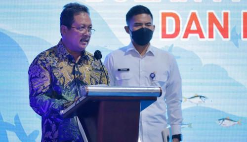 Menteri KKP Trenggono Lepas Ekspor Produk Perikanan ke-40 Negara Senilai Rp1 Triliun