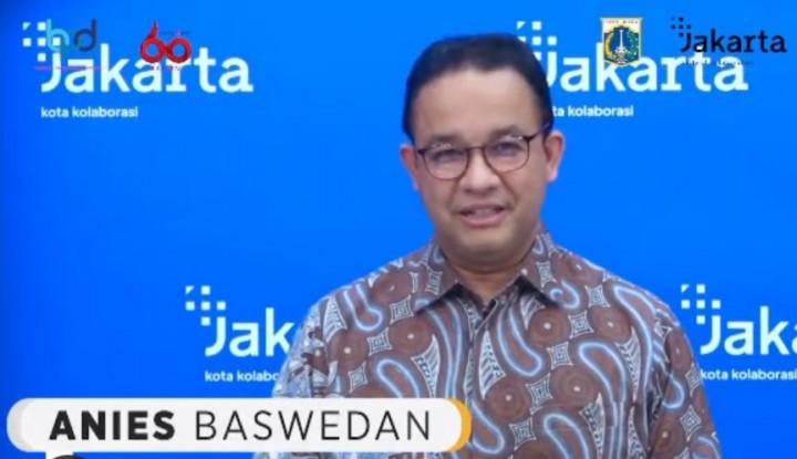 Mas Anies Inspeksi Malam Takbiran di DKI: Malam Ini Alhamdulilah...