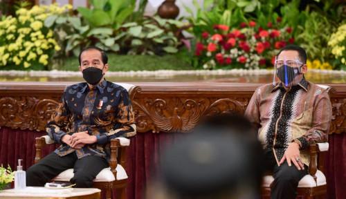 Bamsoet Dampingi Presiden Jokowi Buka Indonesia International Motor Show 2021