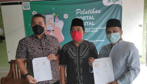 Serempak! Ratusan Pondok Pesantren FSPP di Banten Percepat Digitalisasi dengan Infradigital