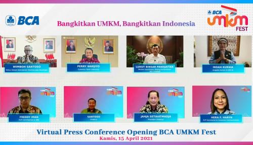 Bangkitkan UMKM Jaman Now, BCA Gelar Festival UMKM Virtual