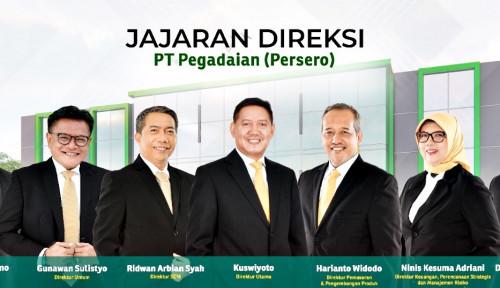 Erick Thohir Angkat Ridwan Arbian Syah Jadi Direktur SDM Pegadaian, Berikut Susunannya...