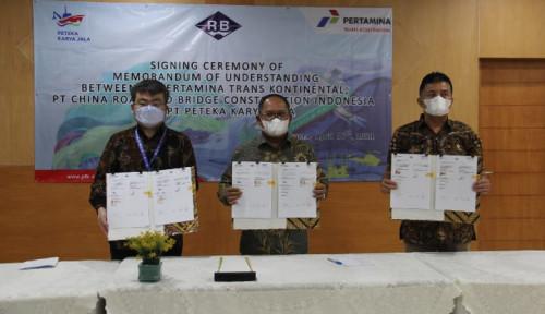 Duet Bareng PKJ dan CRBCI, Pertamina Trans Kontinental Siap Garap Proyek Besar