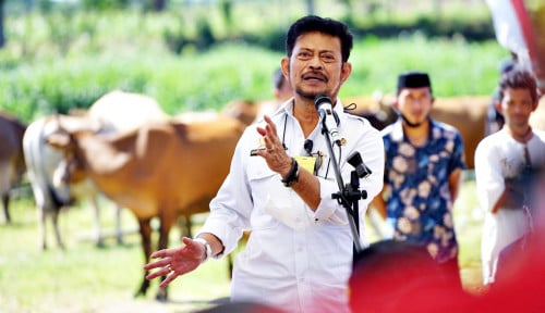 Mentan Syahrul Dorong Kabupaten Jeneponto Jadi Sentra Pertanian dan Peternakan Berkualitas