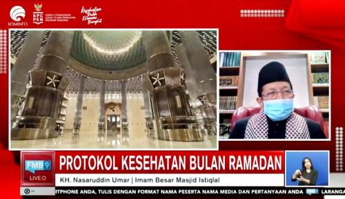 Ikhtiar Putus Penyebaran Covid-19 di Masjid Istiqlal: Ibadah Taat Prokes, Ritual Ditiadakan