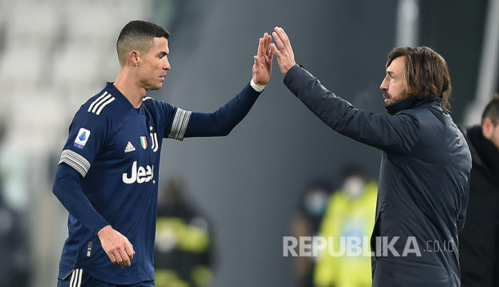Gak Mau Ambil Risiko, Pirlo Bakal Istirahatkan Ronaldo Saat Jumpa Atalanta