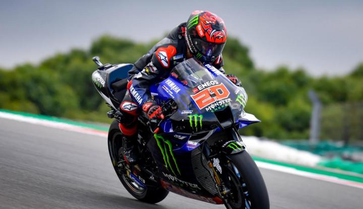 Segel Start Terdepan MotoGP Portugal, Kok Quartararo Gak Happy?