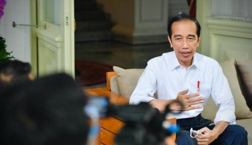 Tinjau Vaksinasi, Jokowi Ketemu Nicholas Saputra dan Cak Lontong
