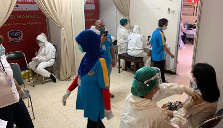 Vaksinasi Covid-19 Enam Wilayah Padat Penduduk Jabar Masih Minim