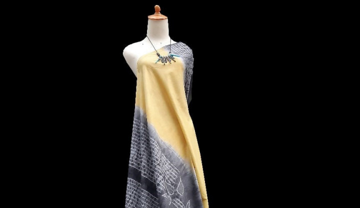 Tangan-tangan Wanita Desa Peduli Gambut Kalsel Sukses Kembangkan Fesyen Berkelanjutan