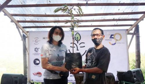Peduli Lingkungan, Askrindo Ajak Milenial Tanam Pohon di Bantaran Ciliwung