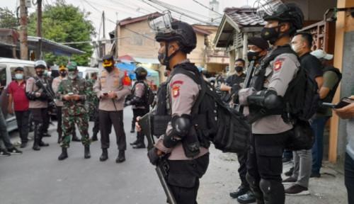 Geledah Bekas Markas FPI, Aparat TNI-Polri Bersenjata Lengkap