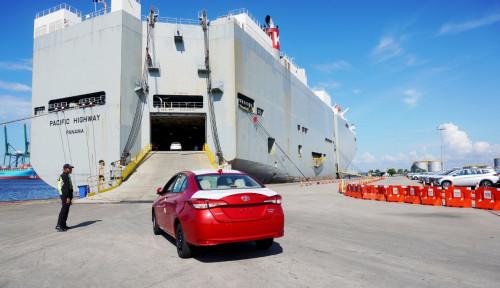 Kinerja Ekspor Toyota Kuartal I 2021 Lanjutkan Tren Pemulihan