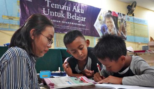 Anak Sulit Akses Buku, Universitas Pertamina Hadirkan Perpustakaan